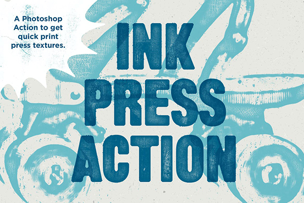 Ink Press Type Action