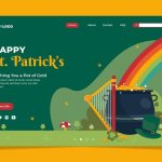 Landing Pages and Banners for St. Patrick's Day 2021