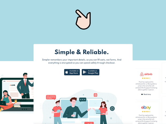 Swipe: Free Bootstrap 5 template