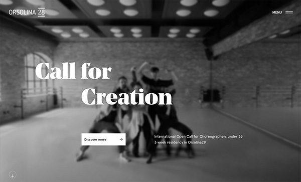 Orsolina 28 - Award Winner Web Design Example - 1
