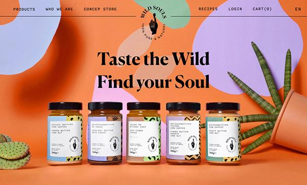 Wild Souls - Award Winner Web Design Example - 12