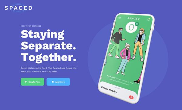 SPACED | Social Distancing App - Award Winner Web Design Example - 19