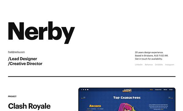 Nerby - Award Winner Web Design Example - 23