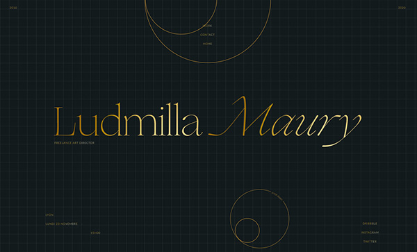 Ludmilla Maury - Portfolio - Award Winner Web Design Example - 25