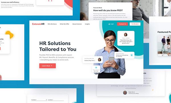 Extensis Hr - Award Winner Web Design Example - 31