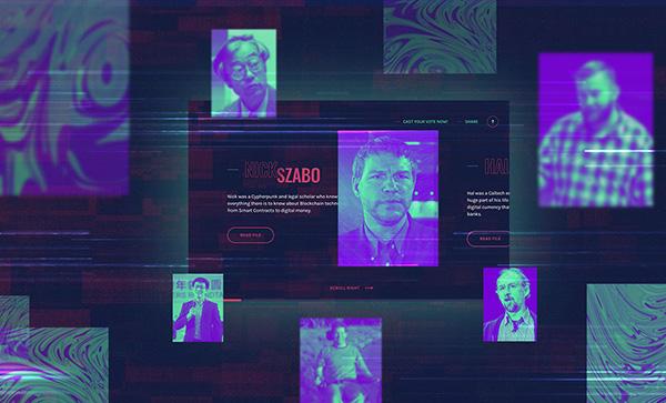 The Hunt For Satosh - Award Winner Web Design Example - 4
