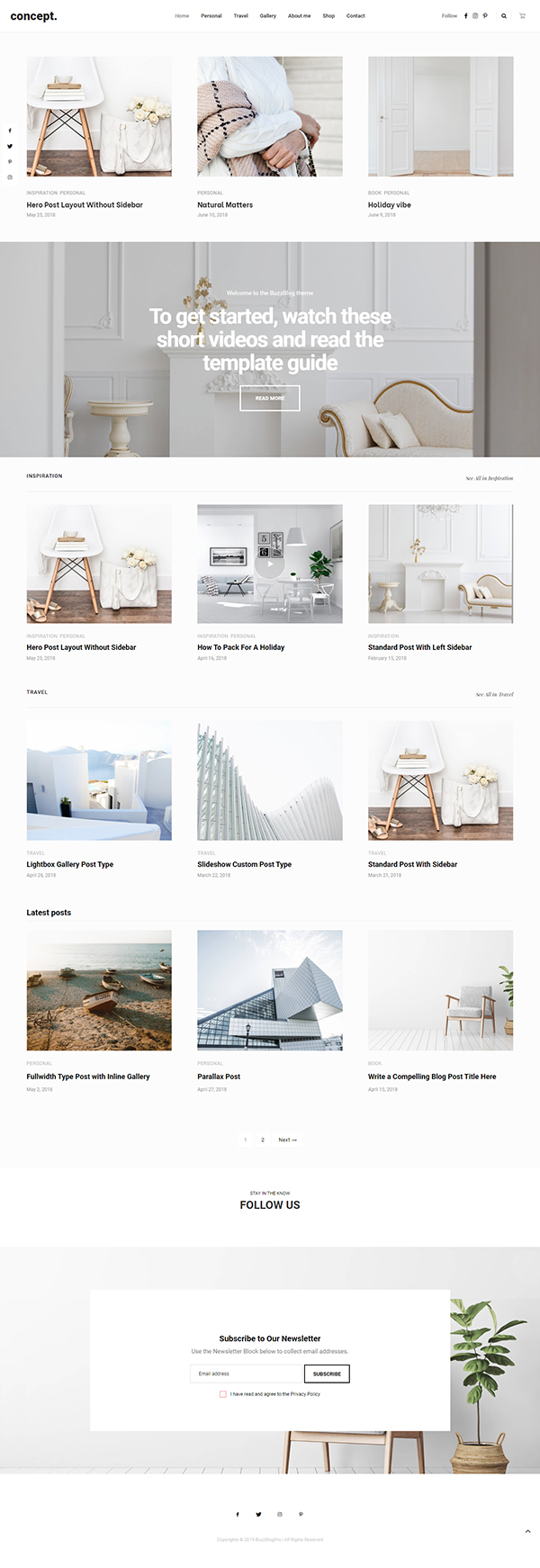 Buzz - Lifestyle Blog & Magazine WordPress Theme