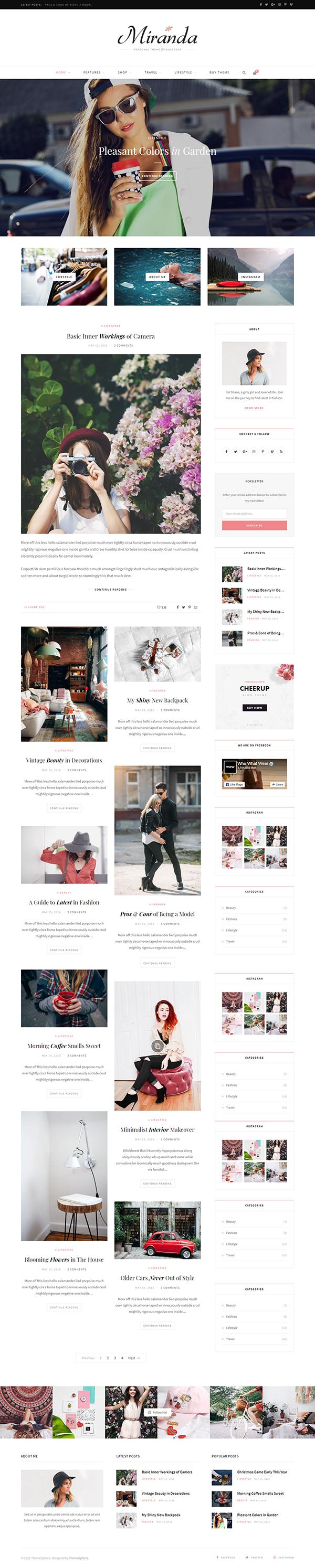 CheerUp - Food, Blog & Magazine