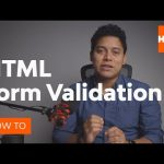 """HTML5 Form Validation With the """"pattern"""" Attribute"""