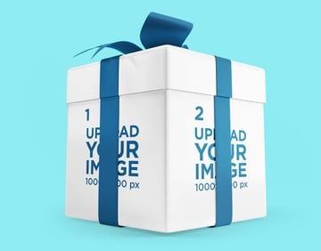Gift Box Mockup
