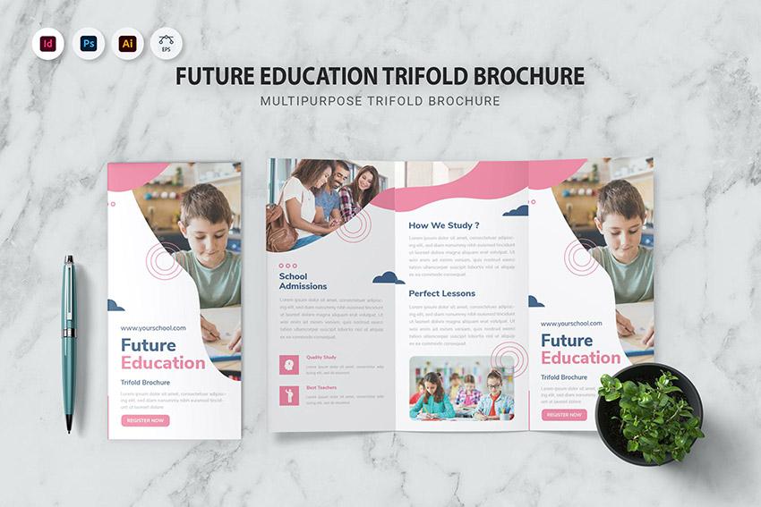 Future Education Trifold Brochure