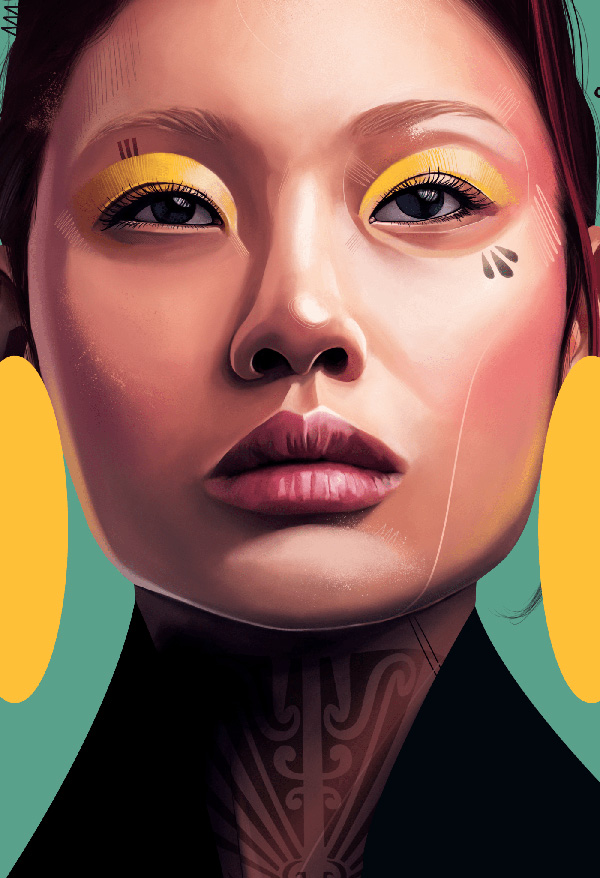 Awe-Inspiring Digital Art and Portrait Illustrations For Inspiration - 13