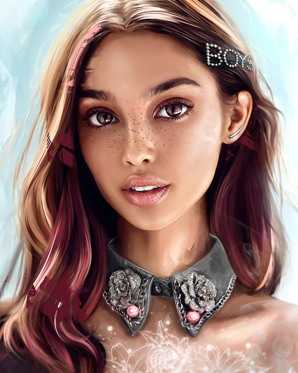 Awe-Inspiring Digital Art and Portrait Illustrations For Inspiration - 15