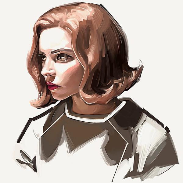 Awe-Inspiring Digital Art and Portrait Illustrations For Inspiration - 27