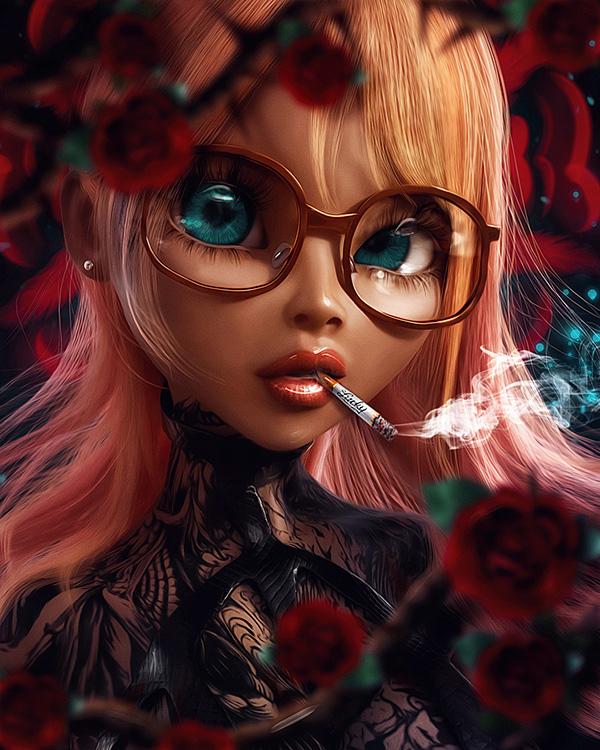 Awe-Inspiring Digital Art and Portrait Illustrations For Inspiration - 31