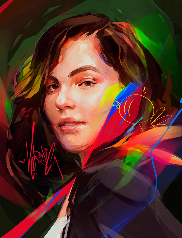 Awe-Inspiring Digital Art and Portrait Illustrations For Inspiration - 33