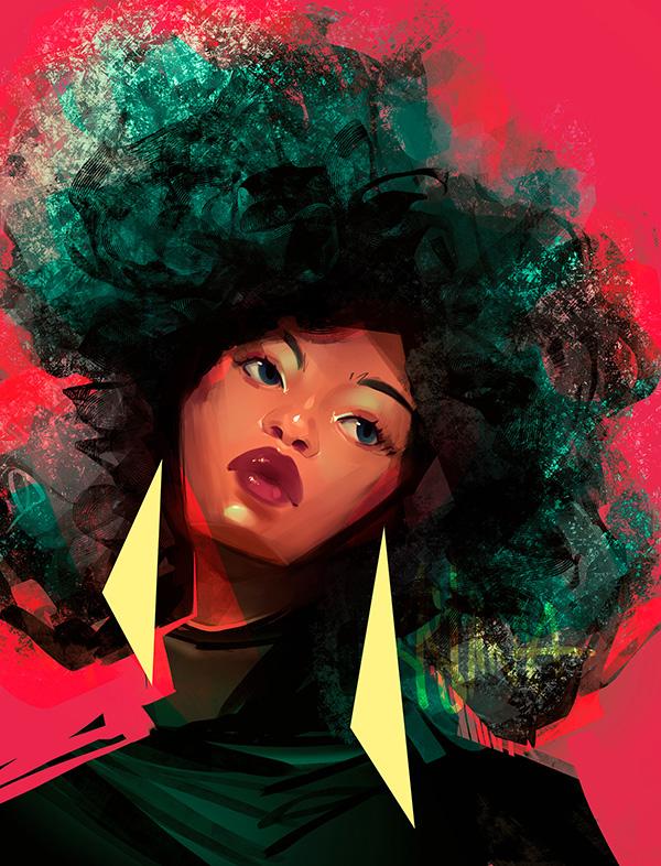 Awe-Inspiring Digital Art and Portrait Illustrations For Inspiration - 34