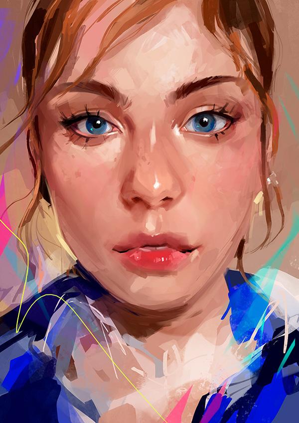 Awe-Inspiring Digital Art and Portrait Illustrations For Inspiration - 36