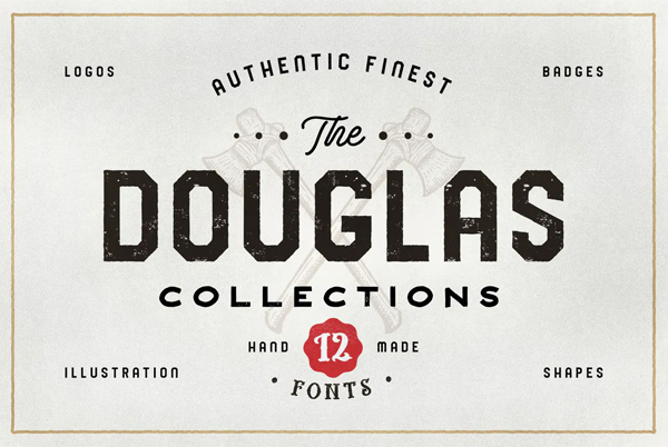 The Douglas Collections Font