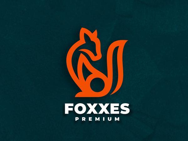 80+ Best Fox Logo Designs - 36