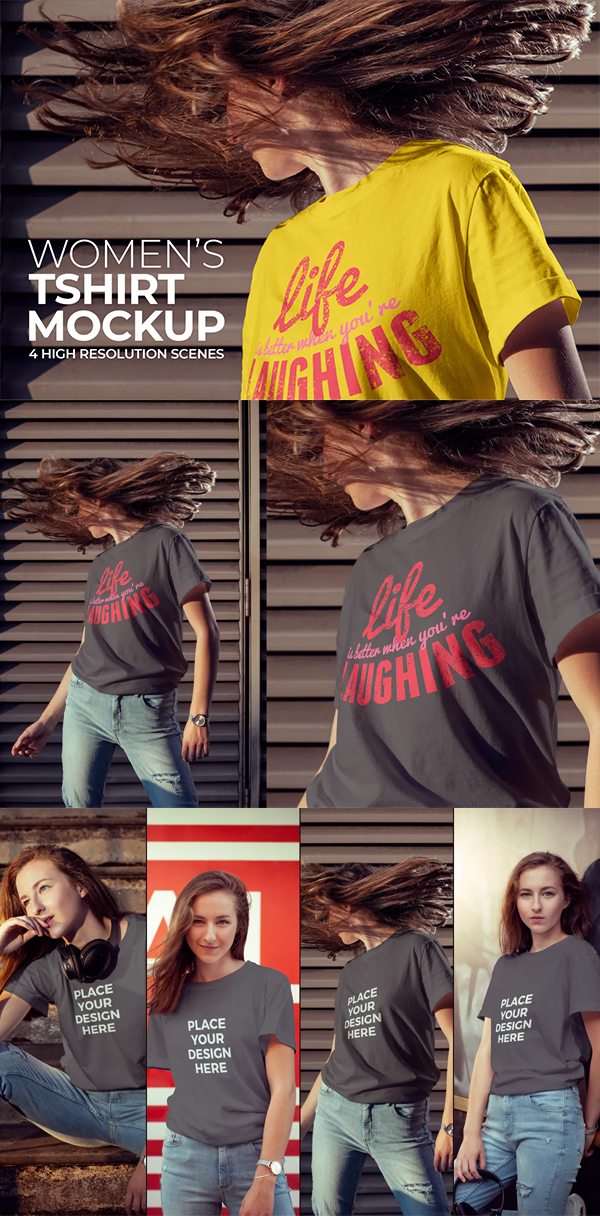 Perfect Women's T-shirt Mockup