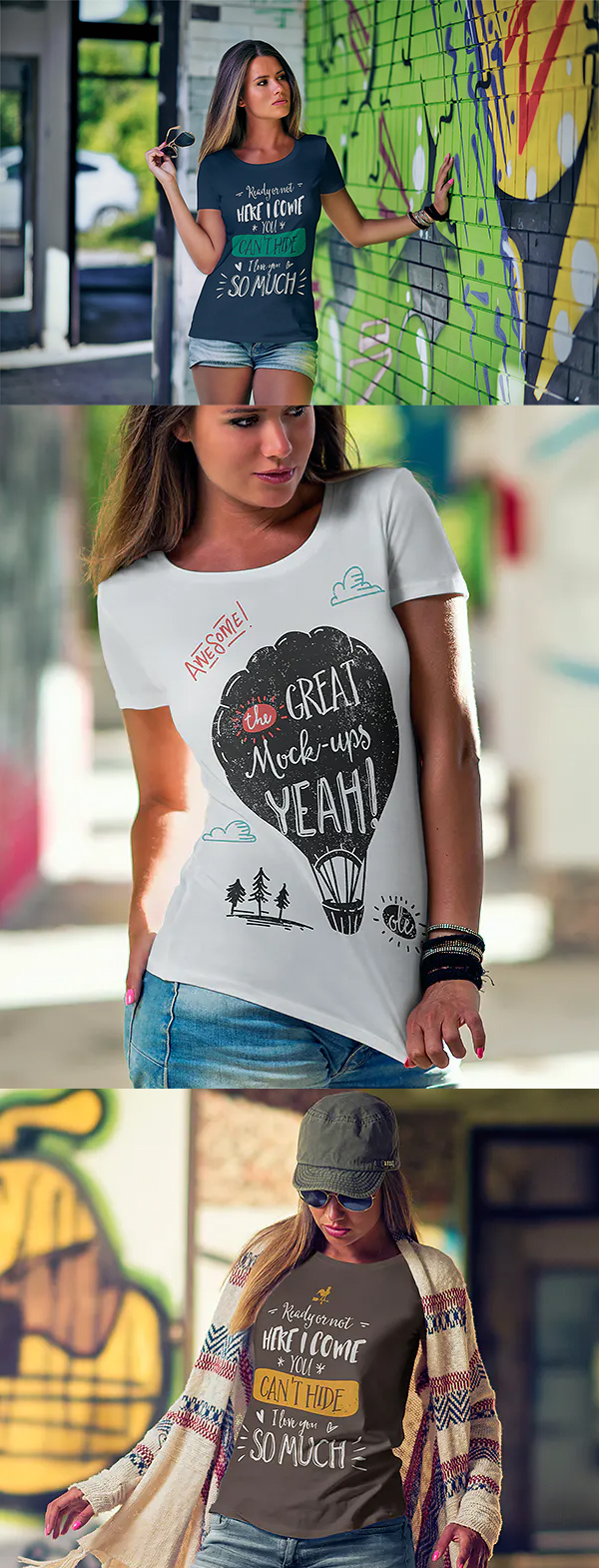 Creative T-Shirt Mock-Up
