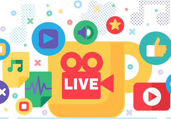 Social Live Production Illustration