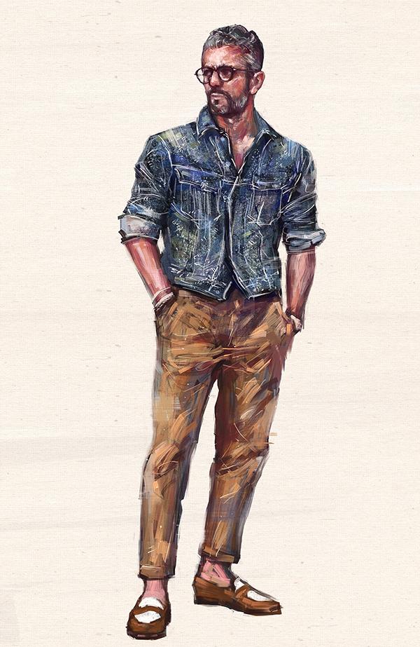 Amazing Digital Fashion Illustrations By Seungwon Hong - 24