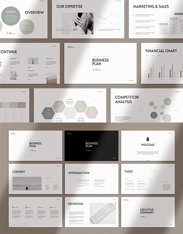 Best Business Plan PowerPoint Template