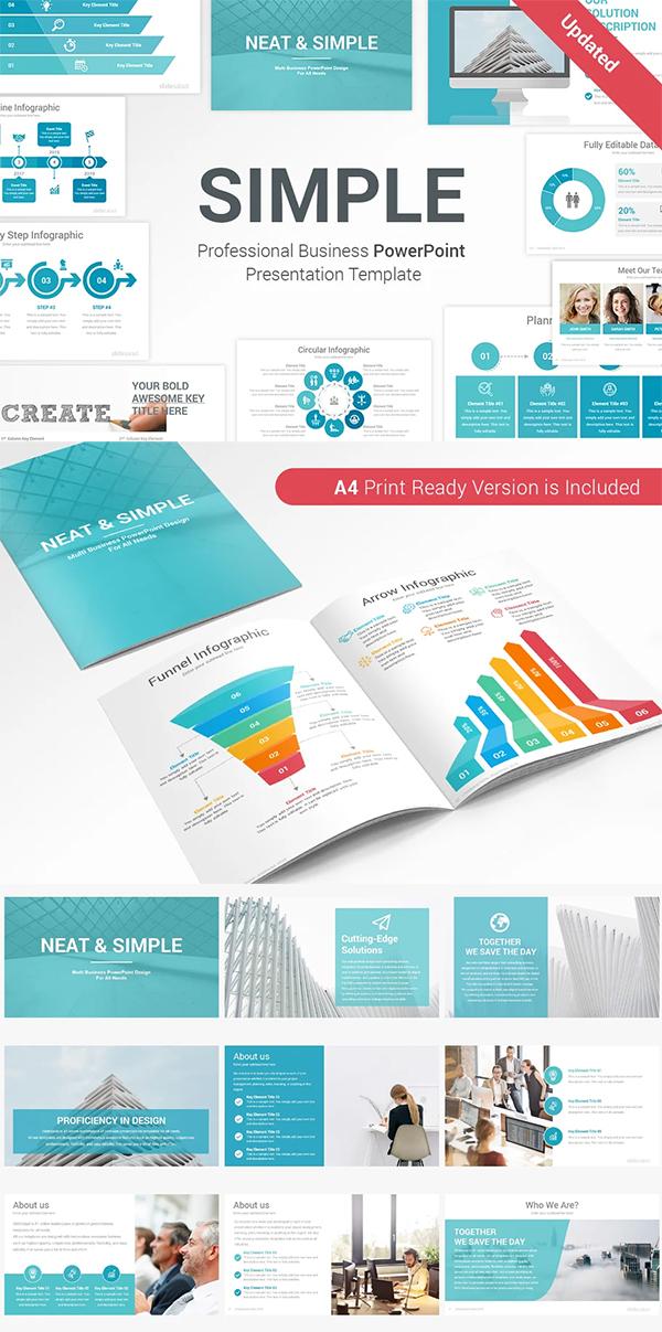 Simple & Modern PowerPoint Template