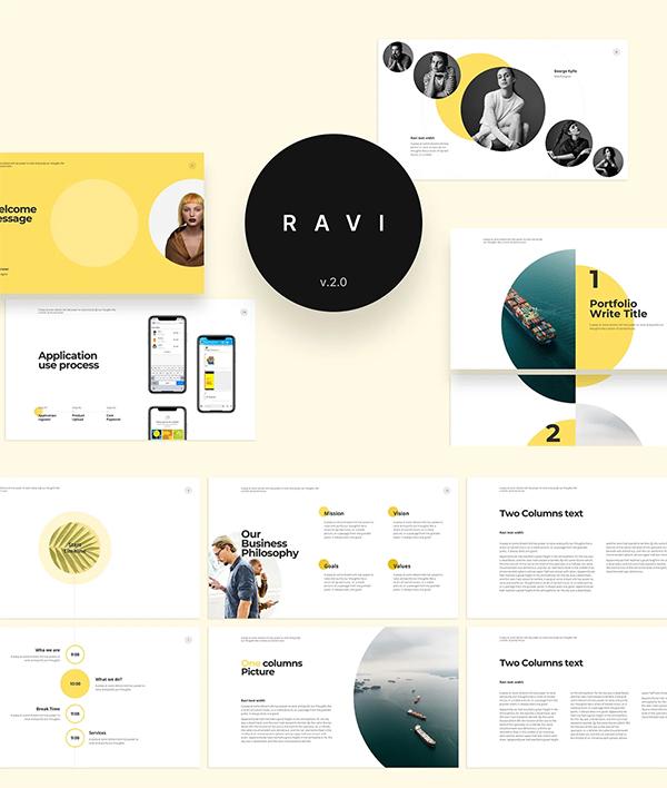 RAVI Presentation Template