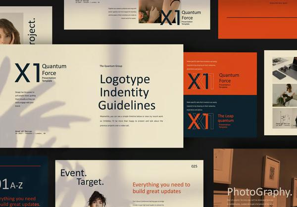 X1 - Minimal Creative Powerpoint