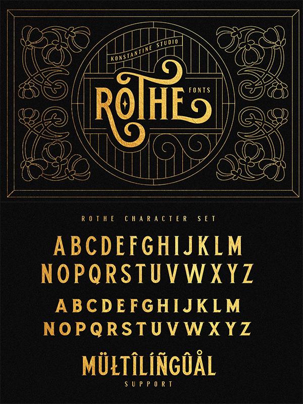 Vintage Luxury Font