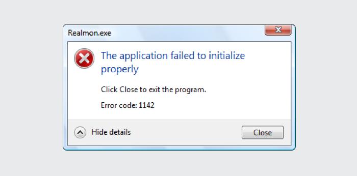 Windows error message that contain nonsense error messages