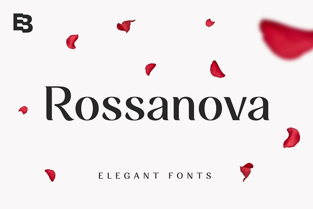 rossanova typeface semi serif font family similar to Garamond feminine