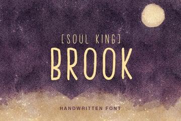 Brook Handwritten Font