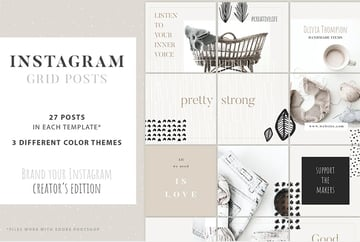 Instagram Grid Planner - Creator