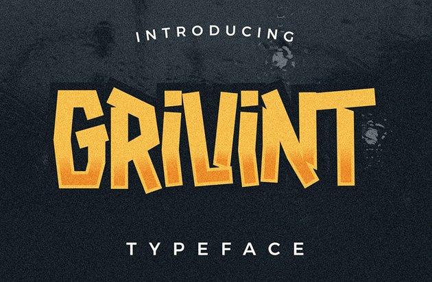 Grivint Typeface