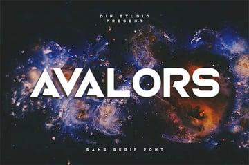 Avalors - Modern Sans Serif Font