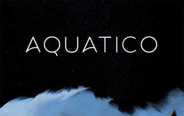 Aquatico - Modern Sans Serif Fonts Free