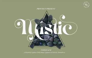 Mistic Typeface