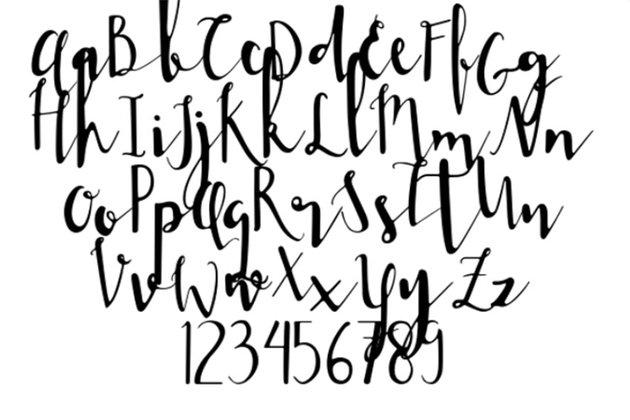 Jane Bugg Free Wedding Calligraphy Fonts