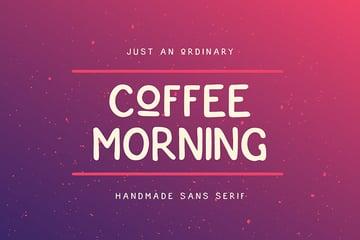 Coffee Morning Sans