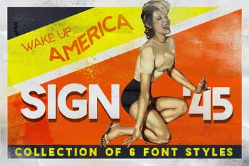 Sign 45 Typeface