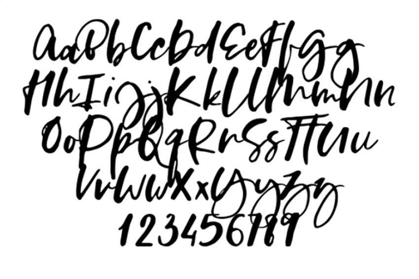 Naomi Blake Free Wedding Calligraphy Font