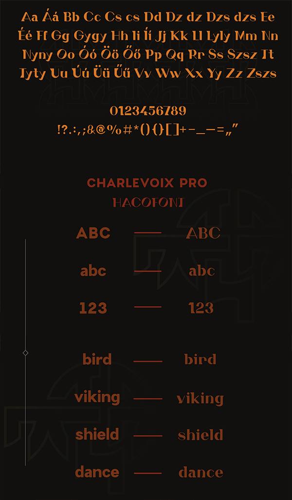 Creative Haco Font