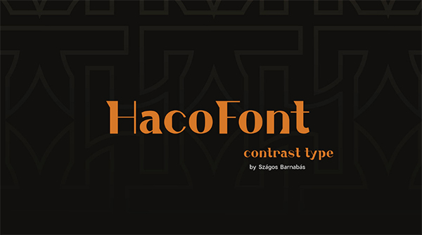 Creative Haco Free Font