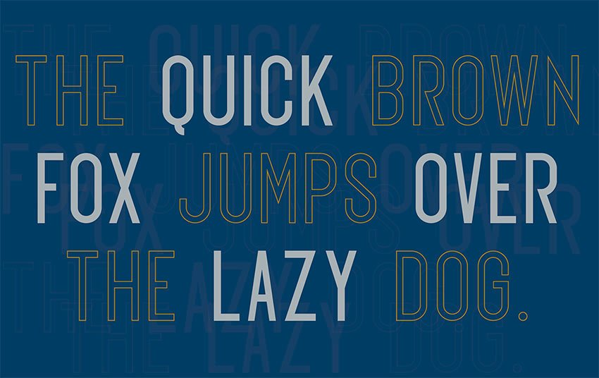 Exon Sans Serif Font Free Download