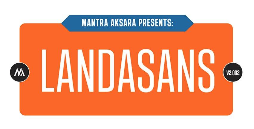 Landasans Sans Serif Font Free Download