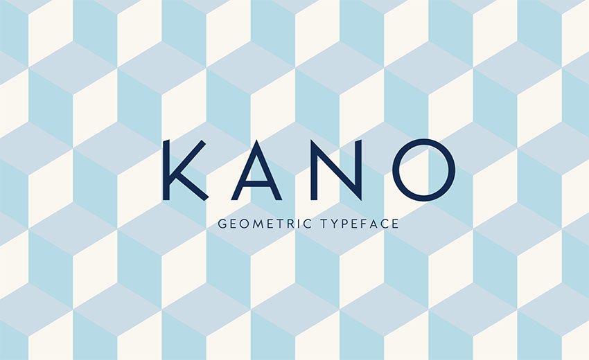 Kano Sans Serif Font Free Download